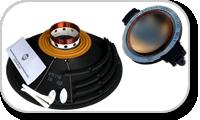 Kits de réparation et diaphragmes pour haut-parleurs