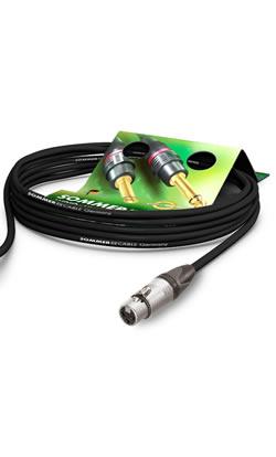 Câbles audio Sommercable équipés