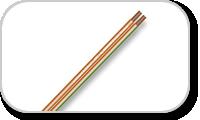 Câble haut-parleur hifi 2 conducteurs
