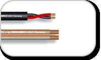 Câbles pour haut-parleurs électro-acoustiques