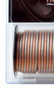 Câbles haut-parleur Odiosis vendu en bobine