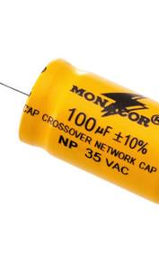 Condensateurs Monacor électrolytiques bipolaires