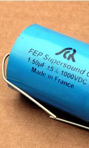 Condensateurs SCR 3Q, FEP SuperSound Cap, diélectrique téflon métallisé