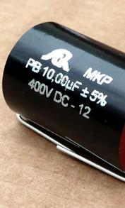 Condensateurs SCR MKP métallisé aluminium séries PA, PB et PPE