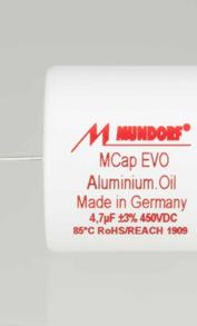 Condensateurs Mundorf MCap Evo