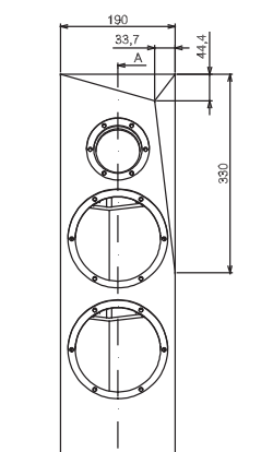 Ebénisteries pour kits enceintes SB Acoustics