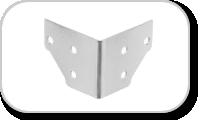Renfort d'angles pour flyghcase et racks 19