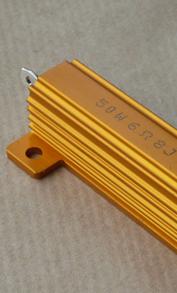 Résistances de puissance AB Sound RG(25w) et RH (50w), sur dissipateur aluminium