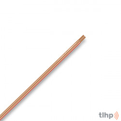 Câble HP au mètre Sommercable SC-TWINCORD, PVC, 4.5x2.3mm, transparent, OFC, 2x0.75mm²