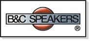 Haut-parleurs B&C Speakers, made in Italie, l'une des plus grande marque au monde
