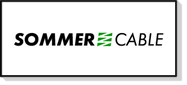 Câbles audio au mètre et câbles audio équipés (XLR, Jack, Speakon, RCA), Sommercable est un fabricant allemand expérimenté