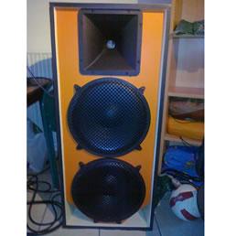 Enceinte 2 voies avec 3 haut-parleurs B&C Speakers
