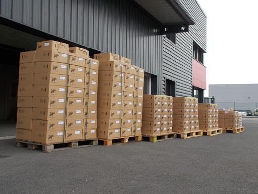 Les palettes de haut-parleurs PHL Audio chez TLHP prêtent pour l'a vente !