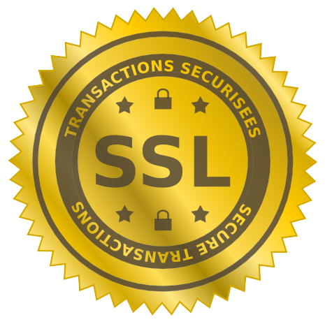 Securised website with SSL protocal, french server